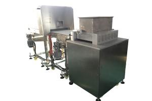 Multiple row protein bar machine