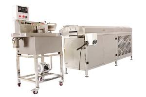 Customized new design chocolate coating machine in mumbai