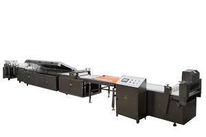 Automatic nougat bar production line