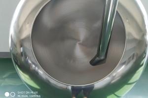 Chocolate polishing machine